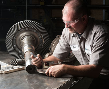 FluidEfficiency Repair Services for Rotating Equipment